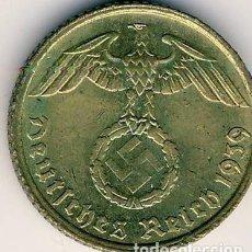 Monedas antiguas de Europa: ALEMANIA - TERCER REICH 5 REICHSPFENNIG, 1939 CECA E - MULDENHÜTTEN. Lote 118653703