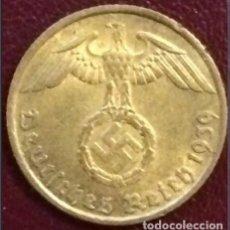 Monedas antiguas de Europa: ALEMANIA - TERCER REICH 5 REICHSPFENNIG, 1939 CECA F - STUTTGART. Lote 194405286