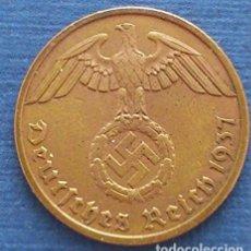 Monedas antiguas de Europa: ALEMANIA - TERCER REICH 10 REICHSPFENNIG, 1937 CECA F - STUTTGART. Lote 118655847