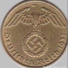 Monedas antiguas de Europa: ALEMANIA - TERCER REICH 10 REICHSPFENNIG, 1937 CECA E - MULDENHÜTTEN. Lote 118656179
