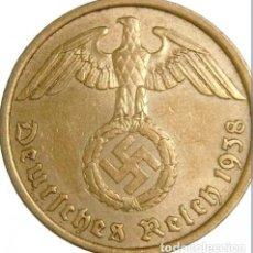 Monedas antiguas de Europa: ALEMANIA - TERCER REICH 10 REICHSPFENNIG, 1938 CECA A - BERLÍN. Lote 118656371