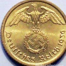 Monedas antiguas de Europa: ALEMANIA - TERCER REICH 10 REICHSPFENNIG, 1939 CECA A - BERLÍN. Lote 118657023