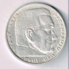 Monedas antiguas de Europa: ALEMANIA - TERCER REICH 5 REICHSMARK, 1935 CECA A - BERLÍN PLATA. Lote 118676491