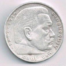 Monedas antiguas de Europa: ALEMANIA - TERCER REICH 5 REICHSMARK, 1936 CECA A - BERLÍN-PLATA. Lote 118676647