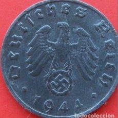 Monedas antiguas de Europa: ALEMANIA - TERCER REICH 1 REICHSPFENNIG, 1944 CECA B - VIENA. Lote 138830646