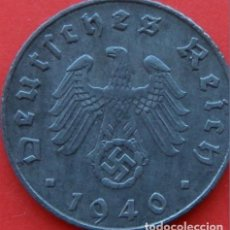 Monedas antiguas de Europa: ALEMANIA - TERCER REICH 5 REICHSPFENNIG, 1940 CECA B - VIENA. Lote 138830661