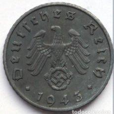 Monedas antiguas de Europa: ALEMANIA - TERCER REICH 5 REICHSPFENNIG, 1943 CECA A - BERLÍN. Lote 118746011