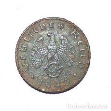 Monedas antiguas de Europa: ALEMANIA - TERCER REICH 5 REICHSPFENNIG, 1943 CECA F - STUTTGART. Lote 118746135