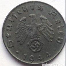 Monedas antiguas de Europa: ALEMANIA - TERCER REICH 5 REICHSPFENNIG, 1944 CECA D - MÚNICH. Lote 118746339