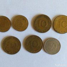 Monedas antiguas de Europa: LOTE 7 MONEDAS ALEMANIA (REP. FEDERAL). Lote 118746607