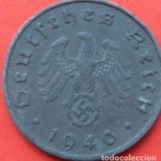 Monedas antiguas de Europa: ALEMANIA - TERCER REICH 10 REICHSPFENNIG, 1940 CECA A - BERLÍN. Lote 118784991