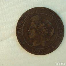 Monedas antiguas de Europa: FRANCIA, 10 CÉNTIMOS, MONEDA DE 1897. Lote 118889043