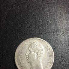 Monedas antiguas de Europa: MMONEDA DE PLATA- FRANCIA - CHARLES X ROI DE FRANCE - 5 FRANCS - 1826 A. Lote 120064322