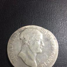 Monedas antiguas de Europa: MONEDA DE PLATA 5 FRANCS BONAPARTE PREMIER CONSUL AN 12 M. Lote 120065304