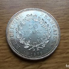 Monedas antiguas de Europa: FRANCIA. 50 FRANCOS DE PLATA DE 1979. SC. Lote 186458021