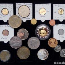 Monedas antiguas de Europa: INTERESANTE LOTE VARIADO DE MONEDAS Y MEDALLAS TEMATICAS IDEAL PARA INICIAR O AMPLIAR COLECCION. Lote 120718291