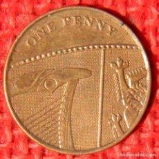 Monedas antiguas de Europa: REINO UNIDO - INGLATERRA - 1 PENNY - 2010. Lote 120842903