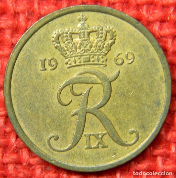 DINAMARCA - 5 ORE - 1969 (Numismática - Extranjeras - Europa)