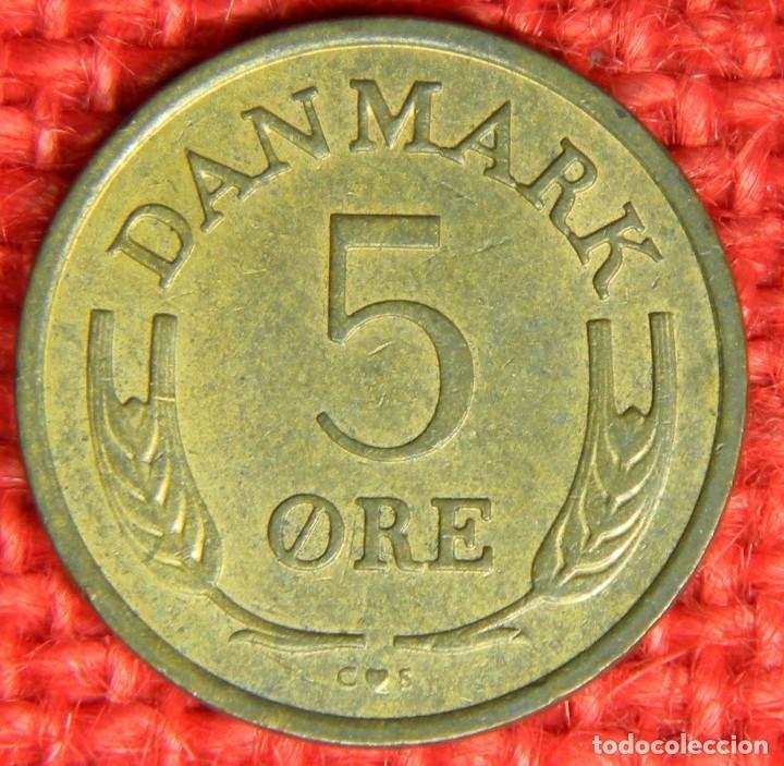 Monedas antiguas de Europa: Dinamarca - 5 Ore - 1969 - Foto 2 - 121016967