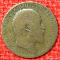 Monedas antiguas de Europa: REINO UNIDO - INGLATERRA - 1 PENNY - 1905. Lote 121055091