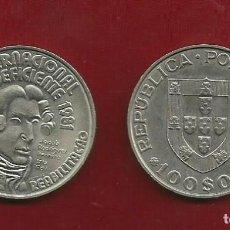 Monedas antiguas de Europa: PORTUGAL 100 ESCUDOS 1981. AÑO INTERNACIONAL DEL DEFICIENTE. Lote 121067459
