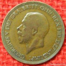 Monedas antiguas de Europa: REINO UNIDO - INGLATERRA - 1/2 HALF PENNY - 1935 . Lote 121069775