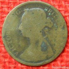 Monedas antiguas de Europa: REINO UNIDO - INGLATERRA - 1 PENNY - 1890. Lote 121073647