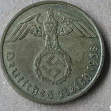 Monedas antiguas de Europa: COLECCIÓN MONEDAS ALEMANIA NAZI. Lote 121349278