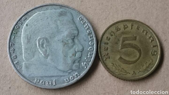 Monedas antiguas de Europa: Colección Monedas Alemania Nazi - Foto 4 - 121349278