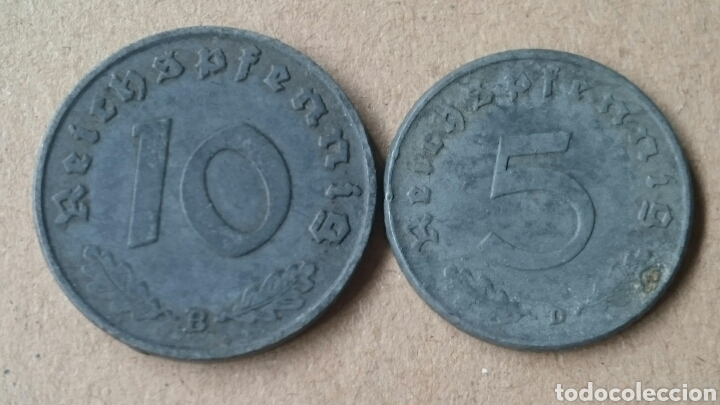 Monedas antiguas de Europa: Colección Monedas Alemania Nazi - Foto 6 - 121349278