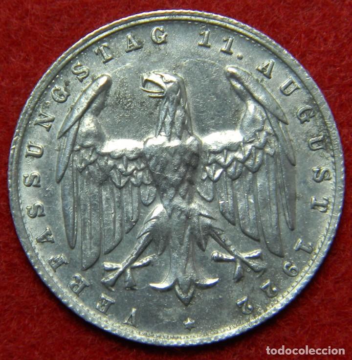 Alemania Deutsche Reich Weimar 3 Mark 1 Comprar Monedas