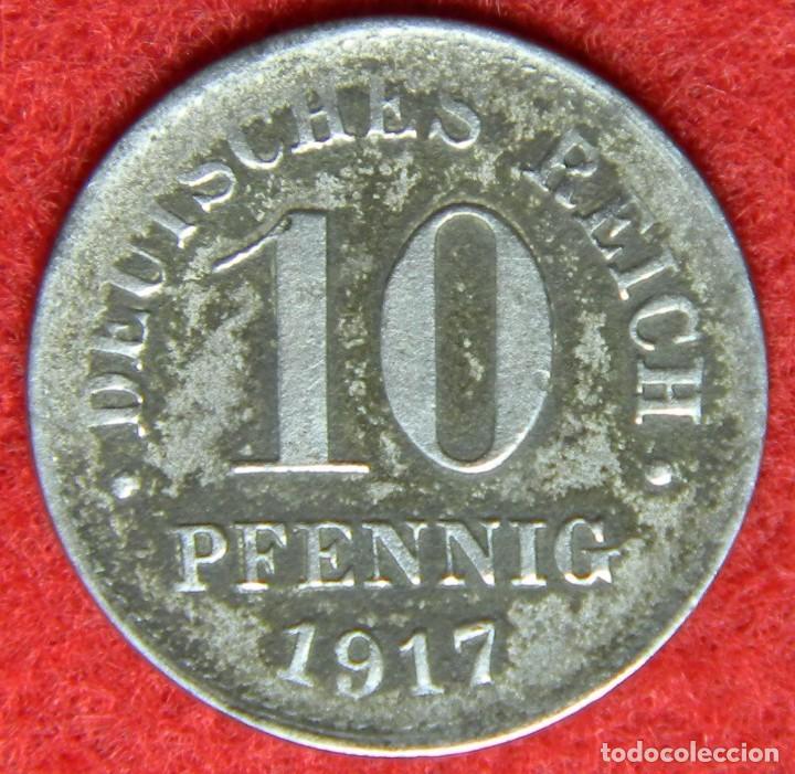 Alemania Deutsche Reich 10 Pfennig 1917 Comprar Monedas