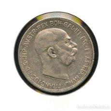Monedas antiguas de Europa: AUSTRIA, MONEDA DE PLATA, JOSEPH I, 2 CORONAS, 1912, SILVER COIN OSTERREING. Lote 121543231