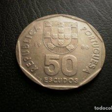 Monedas antiguas de Europa: PORTUGAL 50 ESCUDOS 1986. Lote 121925983