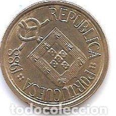 Monedas antiguas de Europa: PORTUGAL,10 ESCUDOS 1988.. Lote 121926579