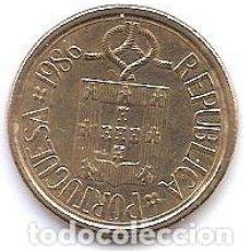 Monedas antiguas de Europa: PORTUGAL,10 ESCUDOS 1986.. Lote 121926663