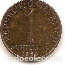 Monedas antiguas de Europa: AUSTRIA,1 SCHILLING 1968.. Lote 121928371