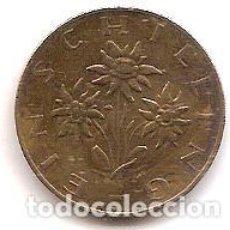 Monedas antiguas de Europa: AUSTRIA,1 SCHILLING 1974.. Lote 121928539
