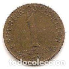 Monedas antiguas de Europa: AUSTRIA,1 SCHILLING 1963.. Lote 121928755