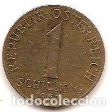 Monedas antiguas de Europa: AUSTRIA,1 SCHILLING 1967.. Lote 121928967