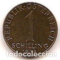 Monedas antiguas de Europa: AUSTRIA,1 SCHILLING 1978.. Lote 121929159