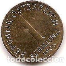Monedas antiguas de Europa: AUSTRIA,1 SCHILLING 1985.. Lote 121929455