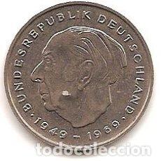 Monedas antiguas de Europa: ALEMANIA,2 MARCOS 1976 G,THEODOR HEUS.. Lote 121931056