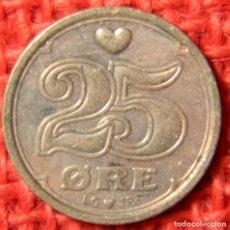 Monedas antiguas de Europa: DINAMARCA - DANMARK - 25 ORE - 1991. Lote 122221355