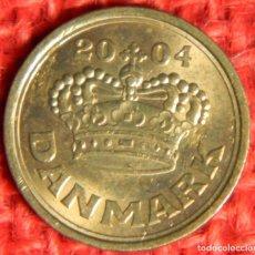 Monedas antiguas de Europa: DINAMARCA - DANMARK - 25 ORE - 2004. Lote 122221435