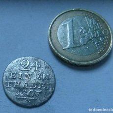 Monedas antiguas de Europa: MONEDA DE VELLON DE 1/24 THALER DEL ESTADO ALEMAN DE HESSE-CASSEL AÑO 1807. Lote 122225367