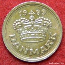 Monedas antiguas de Europa: DINAMARCA - DANMARK - 25 ORE - 1999. Lote 122284959