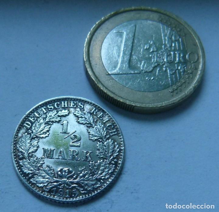 moneda de plata de 1/2 marco del imperio aleman - Comprar Monedas ...