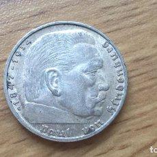 Monedas antiguas de Europa: ALEMANIA. 2 MARCOS DE PLATA DE 1939 G. Lote 122989843