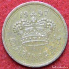 Monedas antiguas de Europa: DINAMARCA - DANMARK - 25 ORE - 1997. Lote 123528779